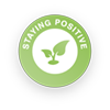 Staying Positive Badge