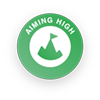 Aiming High Badge