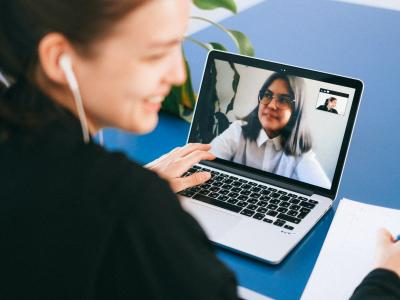 video call header