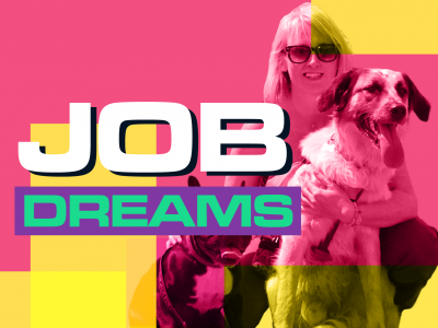 JOB DREAMS_TILE_Dog Walker